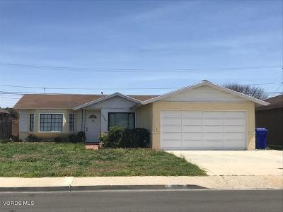 Port Hueneme Single Family Home For Sale: 1526 7th Place
