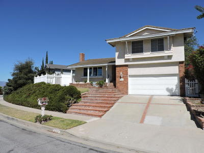 Thousand Oaks Single Family Home For Sale: 949 Calle Ruiz