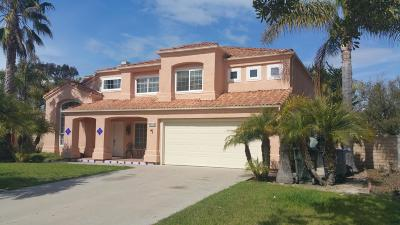 Oxnard Single Family Home For Sale: 2586 Lake Drive