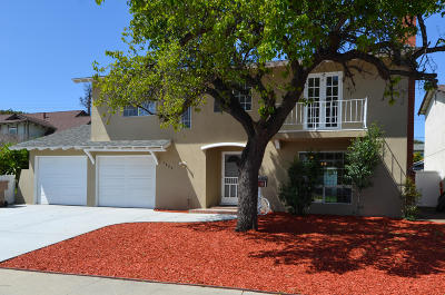 Ventura Single Family Home Active Under Contract: 1829 Pelican Avenue