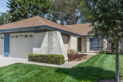 Camarillo Single Family Home Active Under Contract: 5138 Village 5