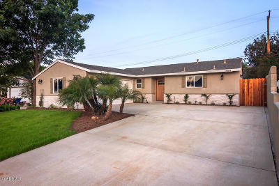 Ventura Single Family Home For Sale: 5161 Norway Drive