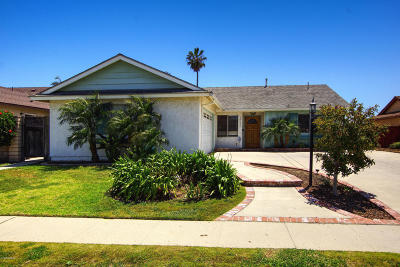 Ventura Single Family Home Active Under Contract: 10026 Halifax Street
