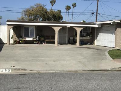 Oxnard Single Family Home For Sale: 485 Salem Avenue