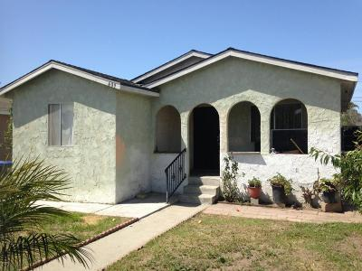 Oxnard Single Family Home For Sale: 409 Bonita Avenue