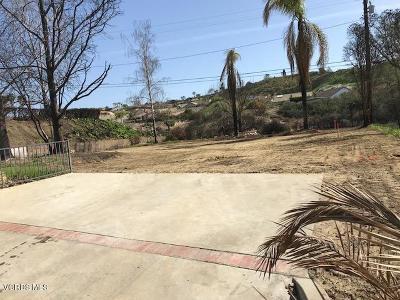 Ventura Residential Lots & Land Active Under Contract: 932 Colina Vista
