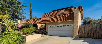 Thousand Oaks Single Family Home For Sale: 1574 Calle Artigas