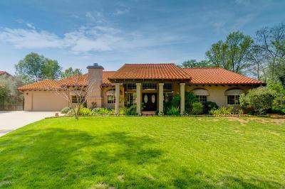 Ojai Single Family Home For Sale: 127 Fairway Lane