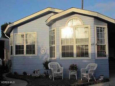 Ventura Mobile Home For Sale: 1215 Anchors Way Drive #42