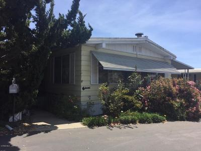 Ojai Mobile Home Active Under Contract: 1202 Loma Drive #88