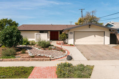 Ventura Single Family Home For Sale: 491 Cornell Place
