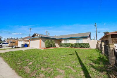 Oxnard Single Family Home For Sale: 4530 Reeder Avenue