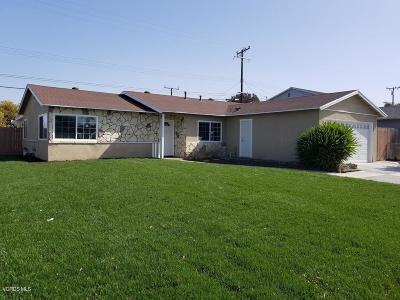 Oxnard Single Family Home Active Under Contract: 321 W Bard Road