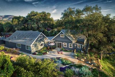 Ojai Single Family Home For Sale: 1035 S La Luna Avenue
