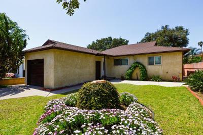 Santa Paula Single Family Home Active Under Contract: 610 14th Street