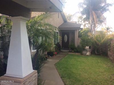 Camarillo Single Family Home For Sale: 5113 Alta Colina Road