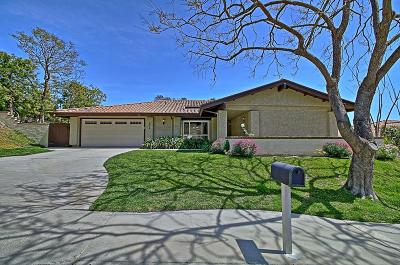 Thousand Oaks Single Family Home Active Under Contract: 3994 Calle Del Sol