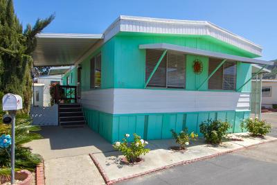 Ventura County Mobile Home For Sale: 720 W Santa Maria Street #58