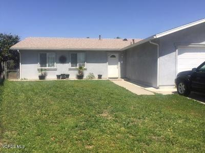 Oxnard Single Family Home For Sale: 1925 Oneill Place