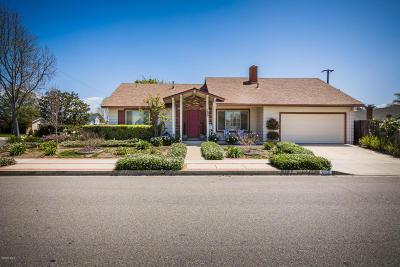 Camarillo Single Family Home Active Under Contract: 1252 Mobil Avenue