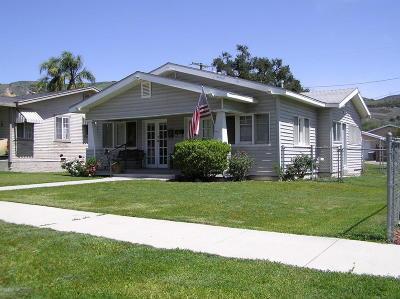 Fillmore Multi Family Home For Sale: 450 Saratoga Street