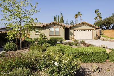 Ojai Single Family Home For Sale: 11575 Oakcrest Avenue