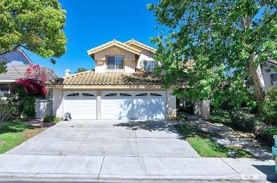 Camarillo Single Family Home For Sale: 1816 Avenida Soltura