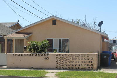 Santa Paula Single Family Home For Sale: 108 S Oak Street