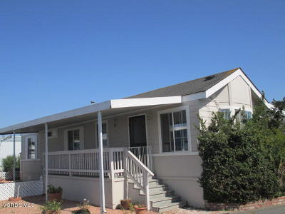 Oxnard Mobile Home Active Under Contract: 4052 Mockingbird Lane