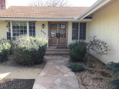 Thousand Oaks Single Family Home For Sale: 536 W Avenida De Las Flores