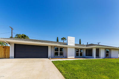 Thousand Oaks Single Family Home For Sale: 91 Doone Street