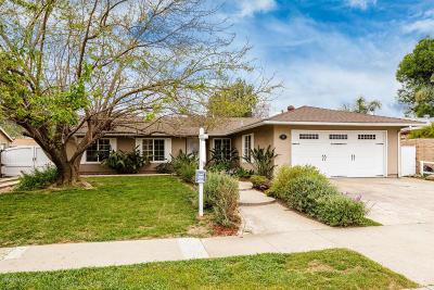 Ojai CA Single Family Home For Sale: $624,900