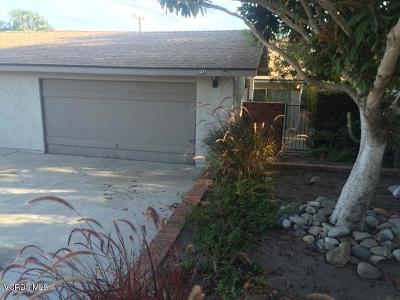 Camarillo Rental For Rent: 23 Lemon Drive #A