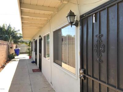 Port Hueneme Multi Family Home For Sale: 156 W A Street