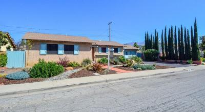 Santa Paula Single Family Home For Sale: 205 Wakeford Street