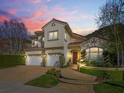 Lake Sherwood CA Single Family Home For Sale: $1,675,000