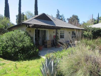 Ojai Single Family Home For Sale: 41 Taormina Lane