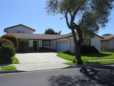 Oxnard Single Family Home For Sale: 4624 Anchorage Street