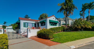 ventura Single Family Home For Sale: 55 Encinal Way