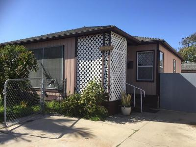 Oxnard Single Family Home For Sale: 317 E Date Street
