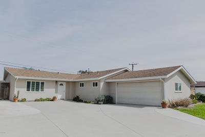 ventura Single Family Home For Sale: 330 Garfield Rondo