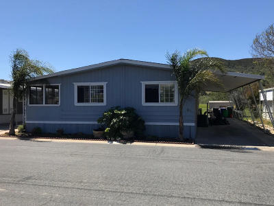Moorpark Mobile Home For Sale: 15750 Arroyo Drive #60
