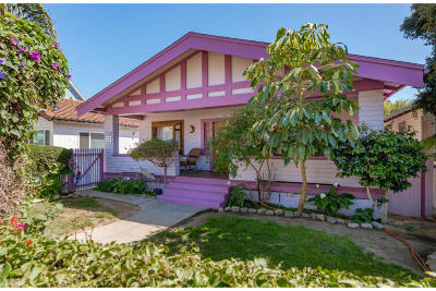 Ventura Single Family Home For Sale: 854 E Main Street