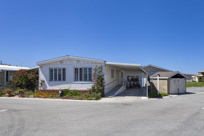 Oxnard Mobile Home For Sale: 5540 W 5th Street #151