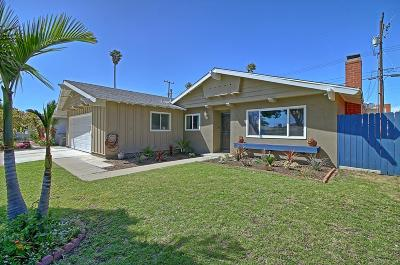 Oxnard Single Family Home Active Under Contract: 1331 Lodgewood Way