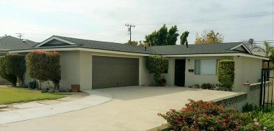 Camarillo Single Family Home For Sale: 2715 Barry Street