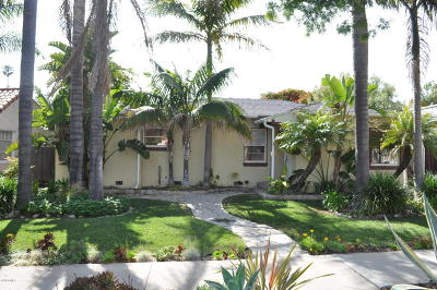 Ventura Single Family Home For Sale: 451 San Clemente Street