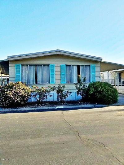 Ventura County Mobile Home Active Under Contract: 250 E Telegraph Road #249