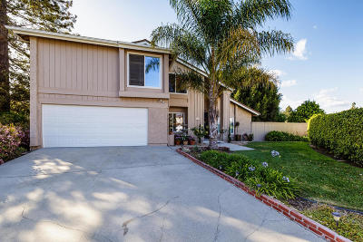 Ventura Single Family Home For Sale: 1276 Halifax Court