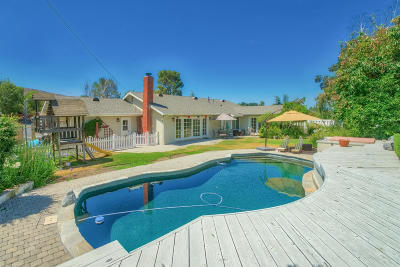 Thousand Oaks Single Family Home For Sale: 2541 Hood Drive